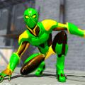 机器人英雄蜘蛛侠格斗游戏2021