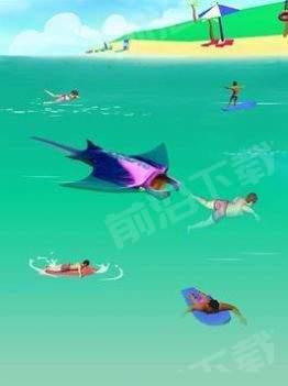 大白鲨袭击3D