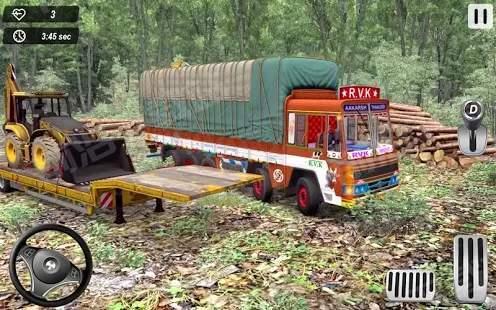 印度卡车越野货物驾驶模拟器2