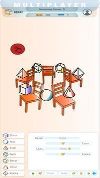 音乐椅多人游戏