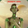 模拟3d女机器人