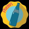 为朋友旋转瓶子